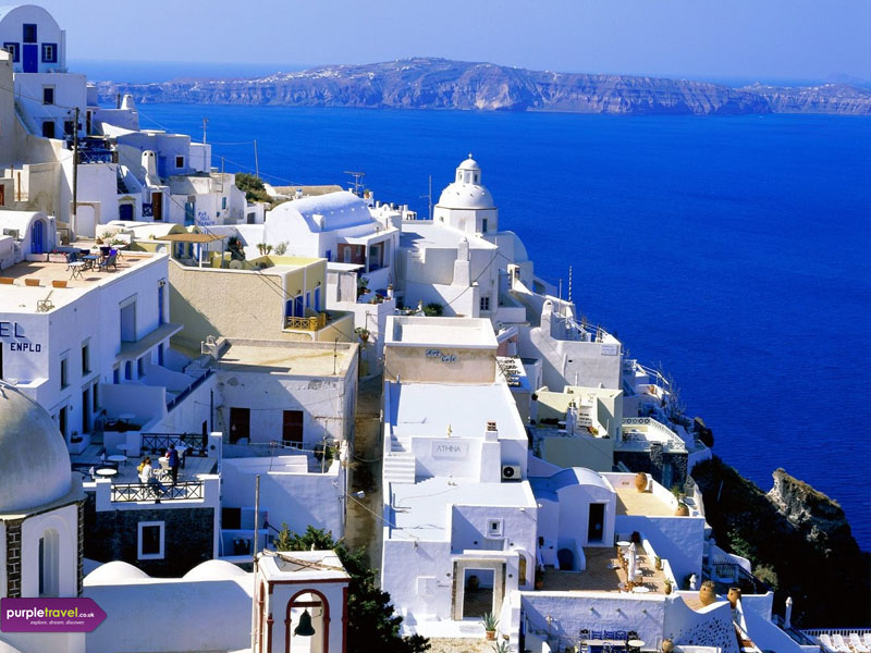 Fira Cheap holidays with PurpleTravel