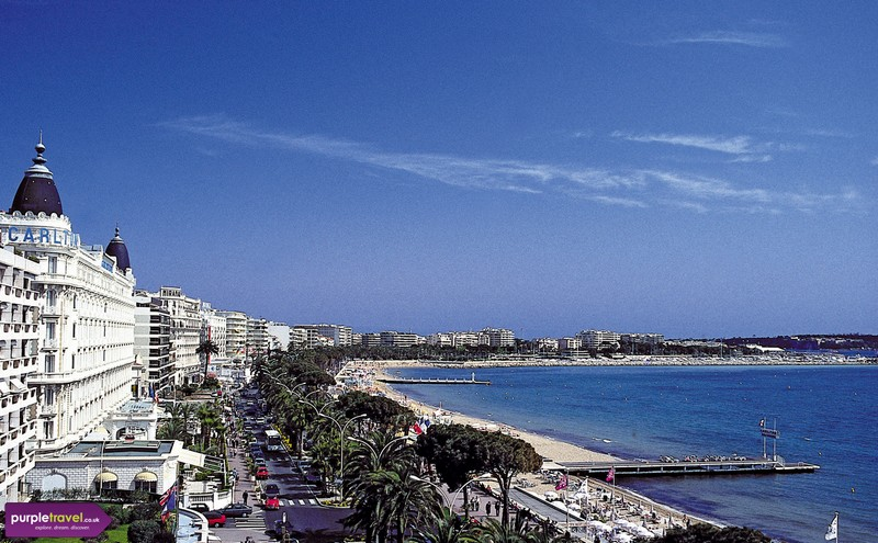 Cannes cheap holidays from PurpleTravel