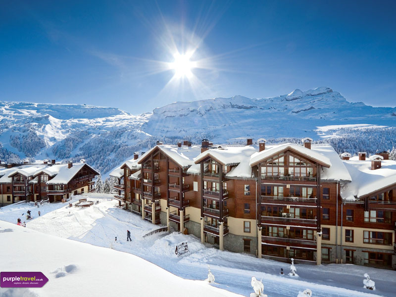 Flaine cheap holidays from purple travel