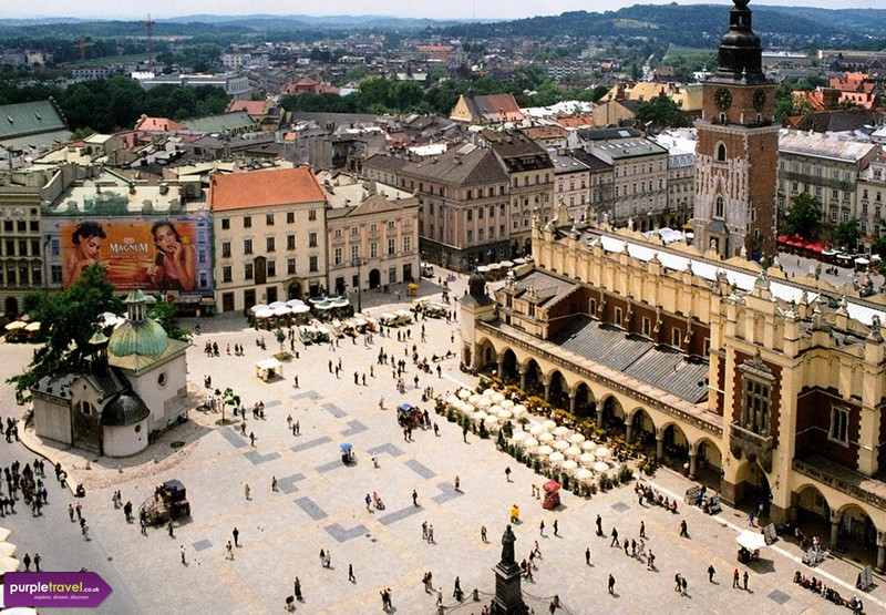 Krakow Cheap Holidays from PurpleTravel