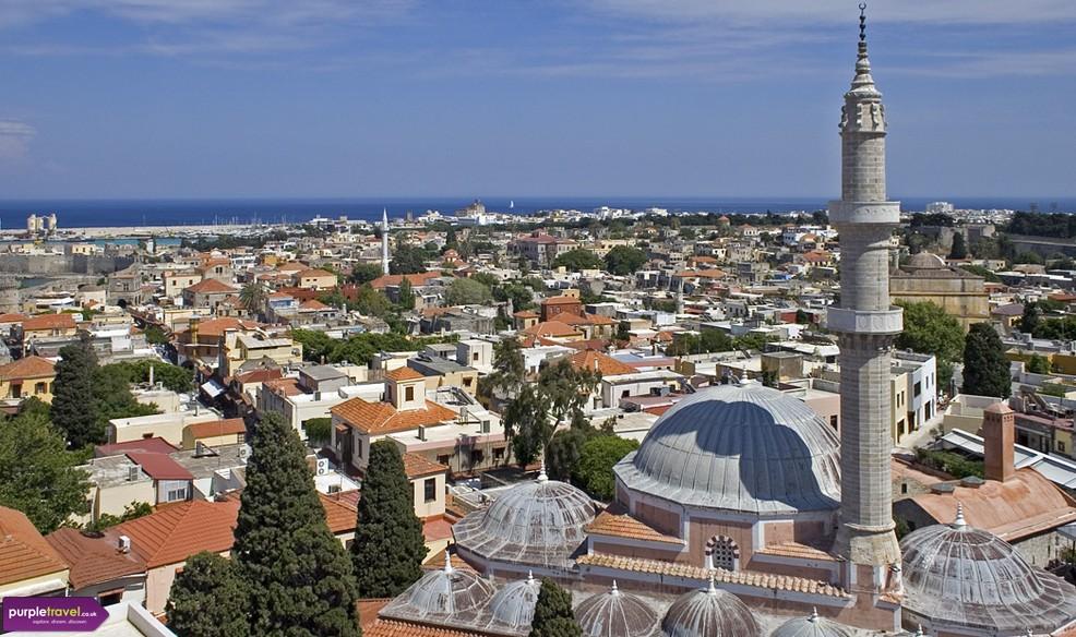 Cheap Holidays Rhodes Town Rhodes Purple Travel