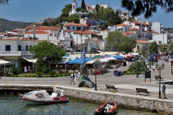 Cheap Holidays Skiathos Town Greece Purple Travel Holiday Packages