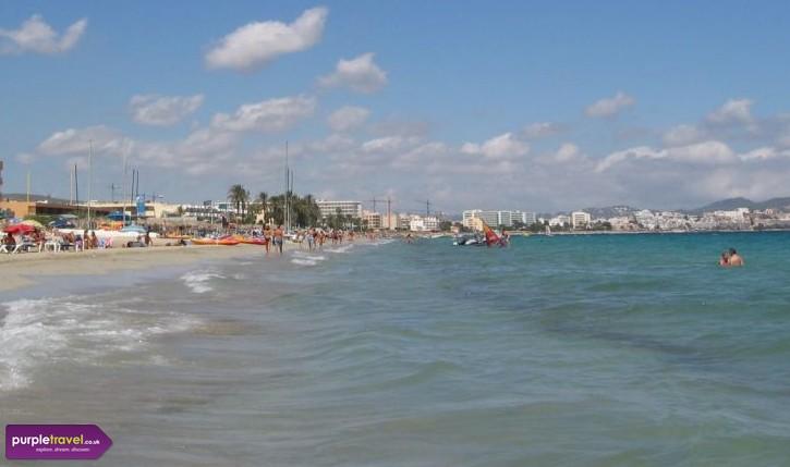 Playa den Bossa Ibiza Cheap holidays with PurpleTravel