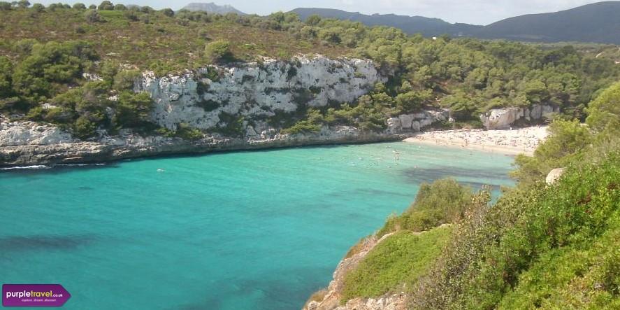 Cheap holidays to Cala Mandia with PurpleTravel.co.uk