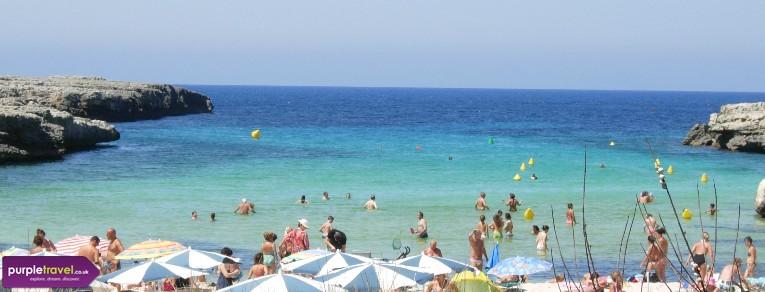 Cala Blanca Menorca Cheap holidays with PurpleTravel