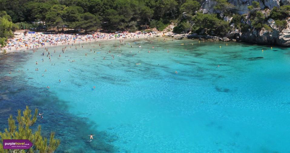 Cala Galdana Menorca Cheap holidays with PurpleTravel