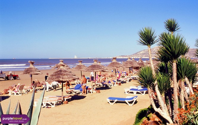 Travel Agency Website >> Cheap Holidays Agadir | Morocco | Purple Travel