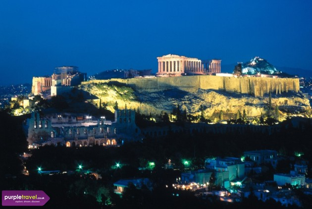 Athens Cheap holidays with PurpleTravel