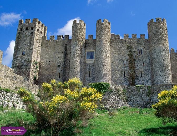 Cheap Holidays Obidos Portugal Purple Travel
