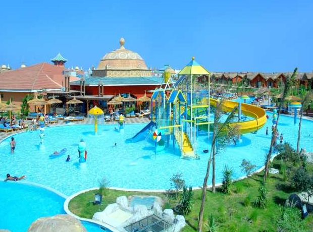 Jungle aqua park hurghada purple travel - Uk hotels with outdoor swimming pools ...