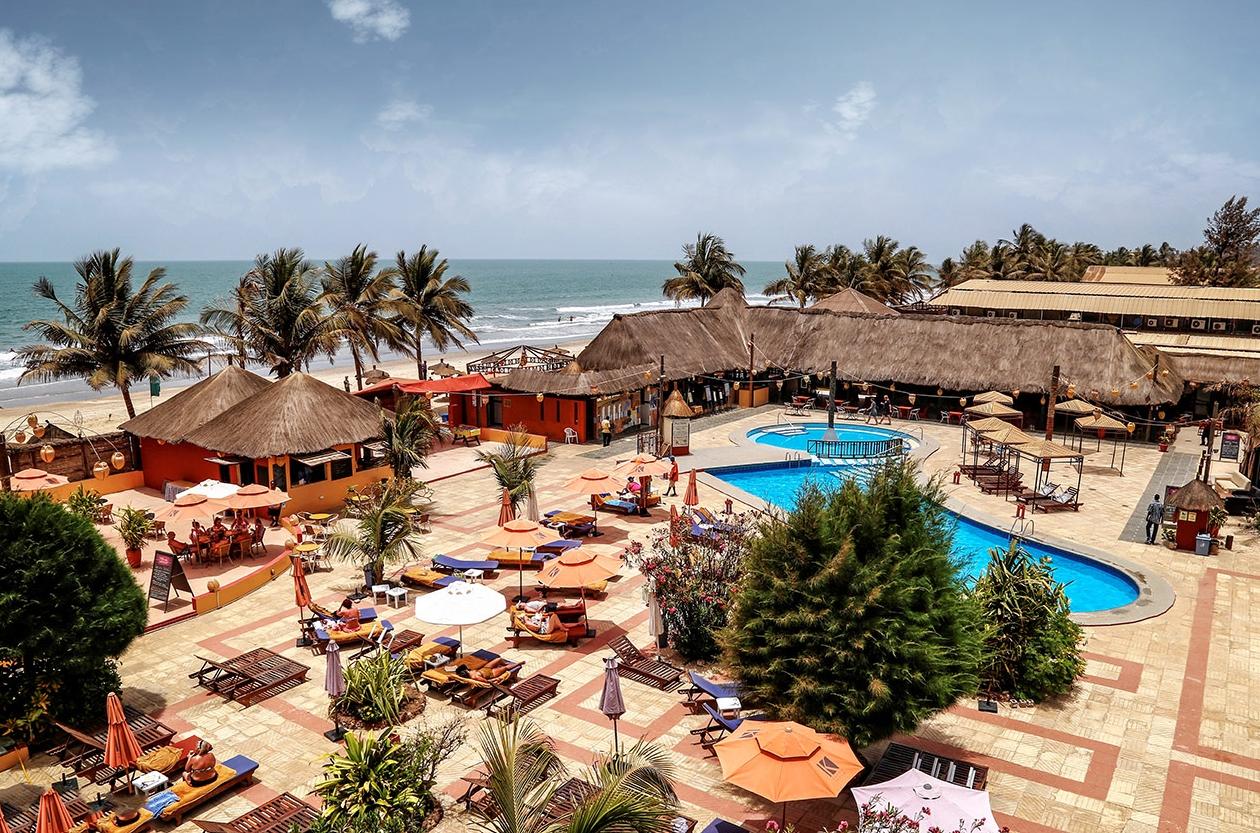 Aerial view - Kombo Beach Hotel photo