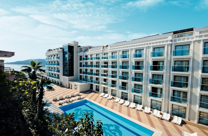 Emre Beach Hotel Website