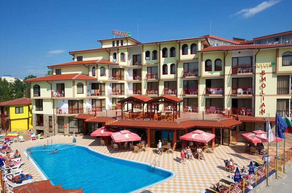 Hotel Smolyan Sunny Beach Location