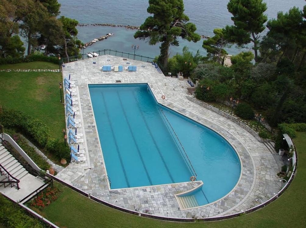 Corfu holiday palace corfu purple travel for Garten pool korfu 1