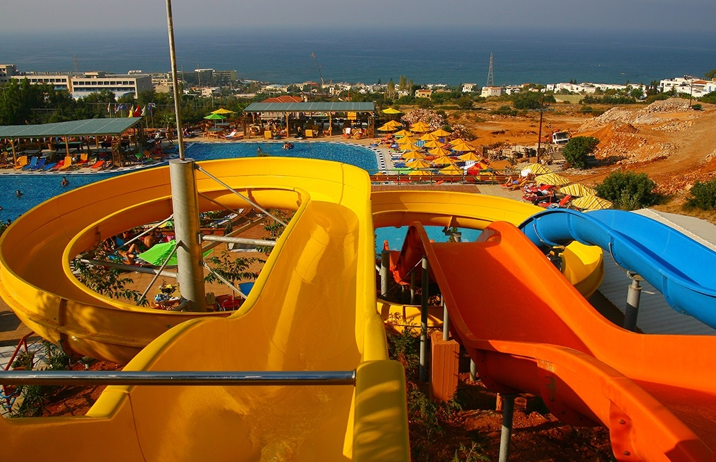 Waterslides photo