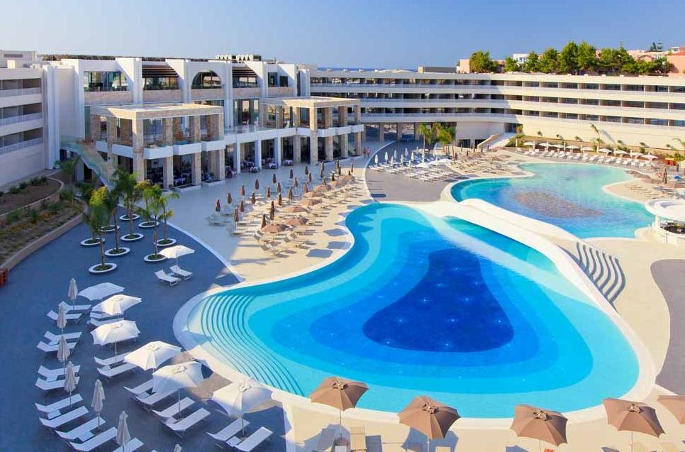 Princess andriana resort spa kiotari purple travel for Hotel spa nueva castilla