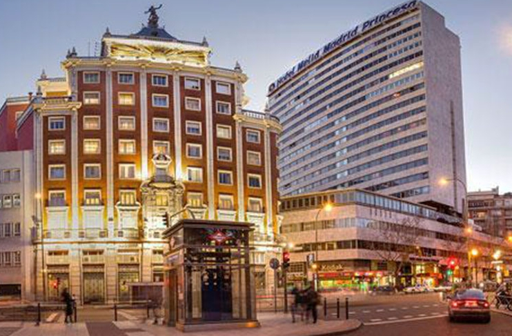 melia madrid princesa madrid purple travel