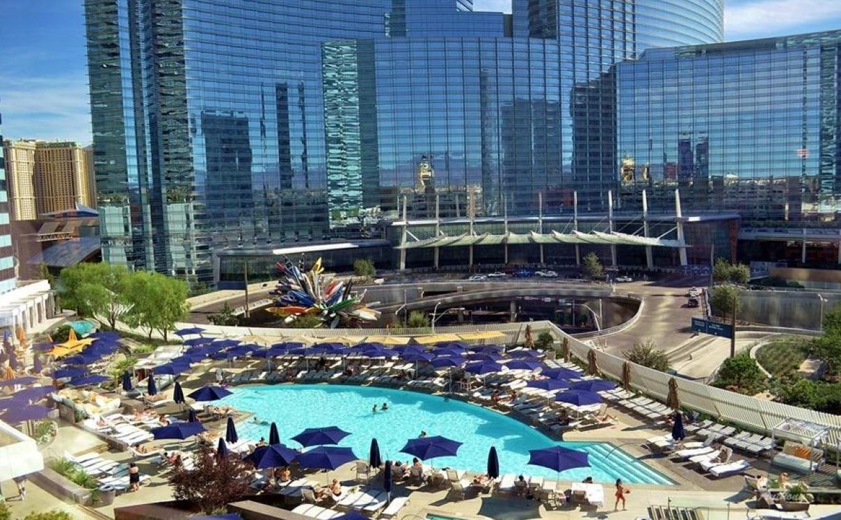 Vdara hotel and spa las vegas purple travel for Hotel spa nueva castilla