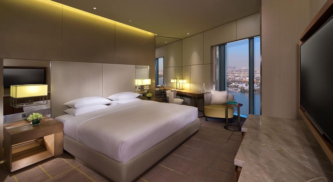 Hyatt dubai creek heights dubai purple travel for The newest hotel in dubai
