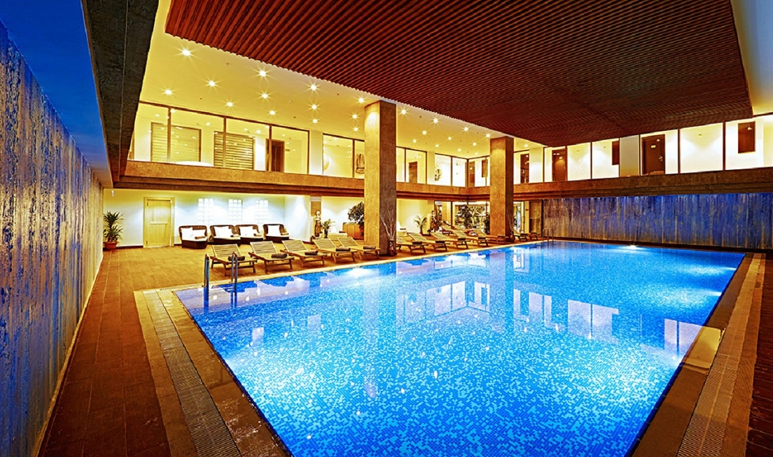 Indoor pool photo