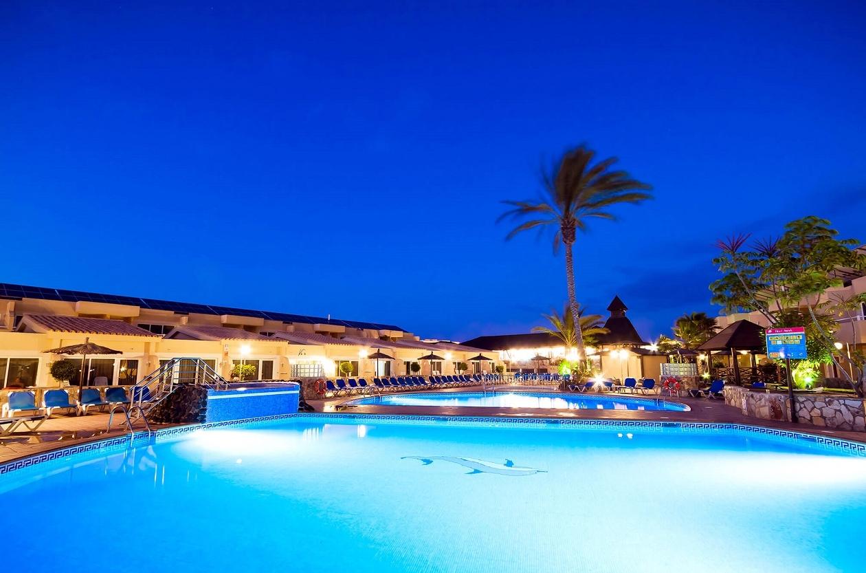 Hotel at Night photo